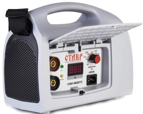 цена на Сварочный аппарат СТАВР САИ-180 БТЛ инверторный 180А IGBT 6.1кВт 20-180А