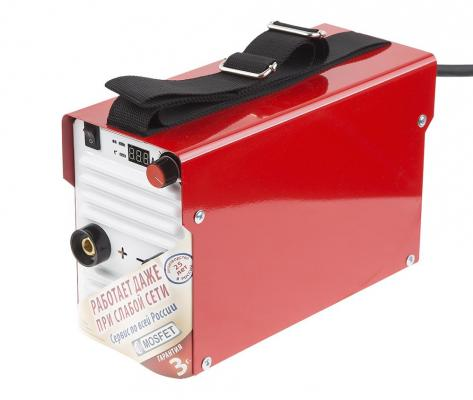 Инвертор сварочный ТОРУС 200+КОМПЛЕКТ  165-242В 6.2кВт 30-200А 2.0-5.0мм ПВ60% провода