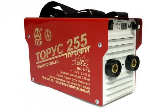 Инвертор сварочный ТОРУС 255 НАКС 165-242В 8.5кВт 30-255А 2.0-5.0мм ПВ80% аттестация НАКС сварочный инвертор aurora pro stickmate 250 2 igbt накс 16951
