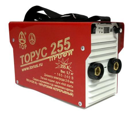 цена на Инвертор сварочный ТОРУС 255+КОМПЛЕКТ 165-242В 8.5кВт 30-255А 2.0-5.0мм ПВ80% провода