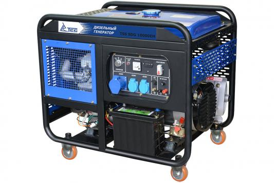 Дизель генератор ТСС SDG 10000EH КВТ 10/ КВА 10/ 25 л. НА 75% БЕЗ ДОЗАПРАВ (ч): 6 цены онлайн