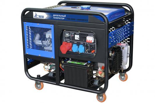 Дизель генератор ТСС SDG 10000EH3 КВТ 10/ КВА 13/ 25 л. НА 75% БЕЗ ДОЗАПРАВ (ч): 8