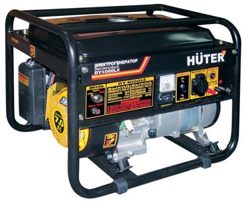 Бензоэлектростанция HUTER DY4000LX электростартер 3,0кВт 50Гц бак15л расх.395г/кВтч 45кг электрический генератор и электростанция huter dy 6500 lx электростартер