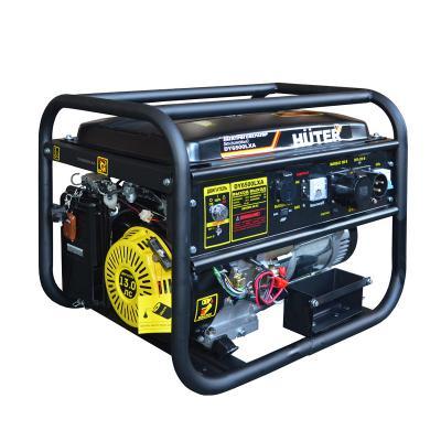 Бензоэлектростанция HUTER DY6500LXA 5,0кВт 50Гц бак22л расх.374г/кВтч 74кг цена