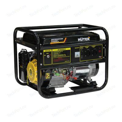 Бензоэлектростанция HUTER DY8000LX 6,5кВт 50Гц бак25л расх.374г/кВтч 94кг