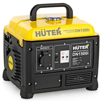 Инверторный бензиновый генератор HUTER DN1500i 220В 2.2лс бензиновый генератор автомат lifan 5gf 5a
