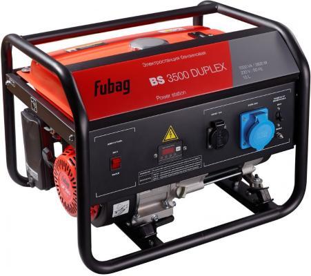 Генератор FUBAG BS 3500 Duplex электростанция бензиновая 97дБ бензиновая электростанция fubag bs 5500