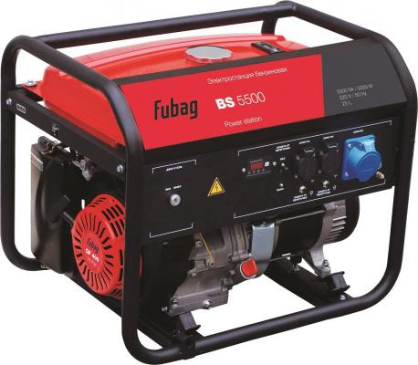 Генератор бензиновый FUBAG BS 5500 5.0кВт 21.7А 25л 220В 81кг bs 5500