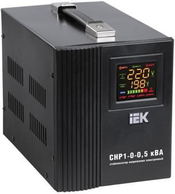 Стабилизатор напряжения IEK СНР1-0- 1 кВА 1 розетка стабилизатор напряжения iek boiler 0 5ква