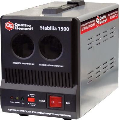 цена на Стабилизатор QE Stabilia 1500 однофазный, цифровой 220В 1500ВА вх.:140-270В