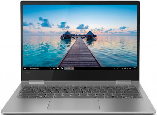 Трансформер Lenovo Yoga 730-13IKB Core i5 8250U/8Gb/SSD128Gb/Intel HD Graphics/13.3/IPS/Touch/FHD (1920x1080)/Windows 10 Professional/grey/WiFi/BT/Cam ноутбук lenovo thinkpad edge e480 core i5 8250u 8gb ssd256gb intel hd graphics 14 ips fhd 1920x1080 windows 10 professional