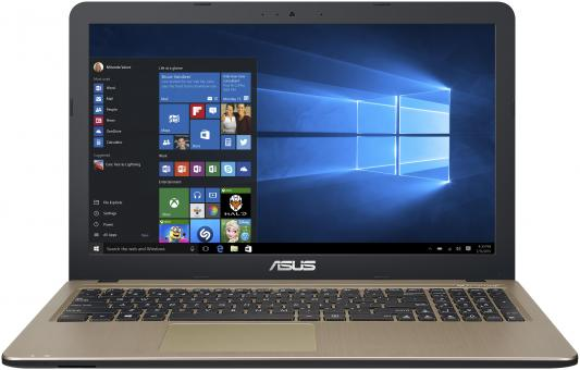 ASUS X540UB-GO058T 15.6(1366x768)/Intel Core i3 6006U(2Ghz)/4096Mb/500Gb/noDVD/Ext:nVidia GeForce MX110(2048Mb)/Cam/BT/WiFi/44WHr/war 1y/2kg/black/W10