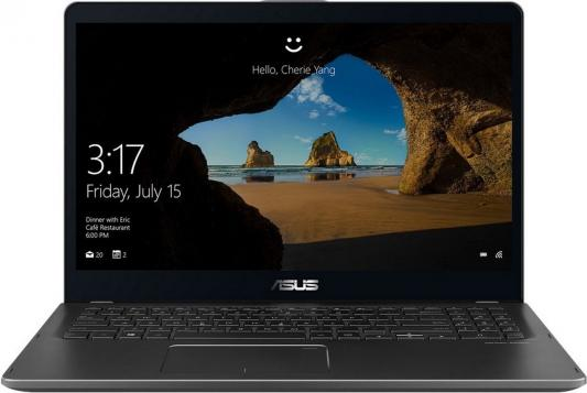 ASUS Zenbook Flip UX561UN-BO013R Core i7-8550U/8Gb/1Tb HDD+128GB SSD/NVIDIA GeForce MX150 2GB/15.6 FHD 1920x1080 TOUCH /WiFi/BT/Cam//Illum KB/Windows 10 Pro/2.1Kg/Smoky Grey/Carry bag + Stylus ультрабук asus zenbook ux331un eg002t core i7 8550u 8gb 512gb ssd nv 150mx 2gb 13 3 fullhd win10 blue