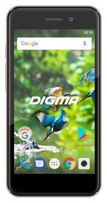 цена Смартфон Digma LINX A453 3G 8 Гб золотистый (LT4038PG)