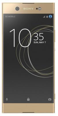 Смартфон SONY Xperia XA1 Ultra Dual 32 Гб золотистый (1308-0891) мобильный телефон sony xperia xa1 ultra dual sim черный