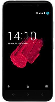Смартфон Prestigio Grace M5 LTE 16 Гб серебристый (PSP5511DUOSILVER) смартфон fly fs523 cirrus 16 lte black