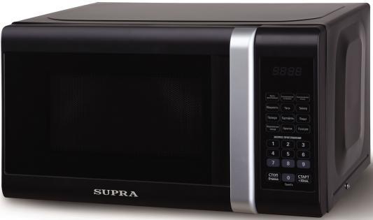 СВЧ Supra 20SB12 700 Вт чёрный бритва supra rs 204 чёрный