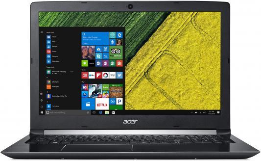 Ноутбук Acer Aspire A515-51G-5826 Core i5 7200U/4Gb/500Gb/nVidia GeForce Mx150 2Gb/15.6/HD (1366x768)/Windows 10/black/WiFi/BT/Cam/3220mAh ноутбук acer aspire e5 573g 51n8 nx mvmer 099 i5 4210u 4gb 500gb dvdrw 920m 2gb 15 6 hd win10 wifi bt cam black