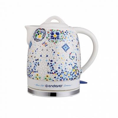 420KR-C Керамический электрический чайник ENDEVER чайники электрические endever чайник электрический