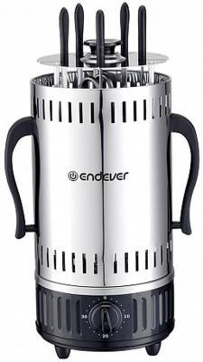 290 Grillmaster Электрошашлычница ENDEVER.1200 Вт, 5 шампуров, автоматическое вращение шампуров. электрошашлычница чудесница 5