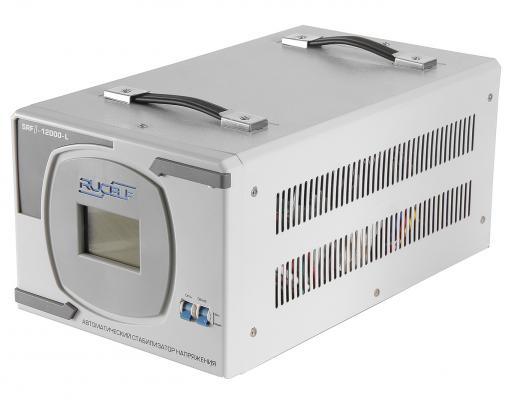 Стабилизатор RUCELF SRF.II-12000-L однофазный, цифровой 220В 10000Вт вх.:90-270В