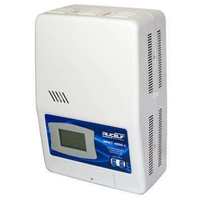 Стабилизатор RUCELF SRW.II-9000-L однофазный, цифровой 220В 7000Вт вх.:90-270В НАСТЕННЫЙ цена