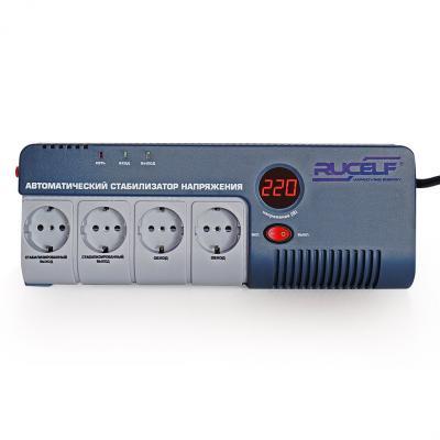 Стабилизатор RUCELF SRW-500-D однофазный, цифровой 220В 350ВА вх.:140-260В цена и фото