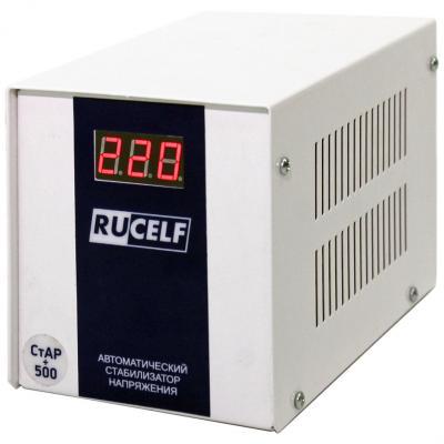 Стабилизатор напряжения RUCELF СтАР 500+ 130-265 в 300Вт rucelf 400