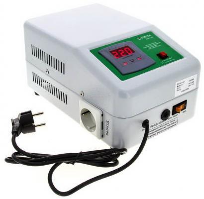 Стабилизатор напряжения SUNTEK SR1500 1500ВА стабилизатор напряжения suntek 16000 ва нн 16000 вт погрешность 8% выходное напр 209 231 в