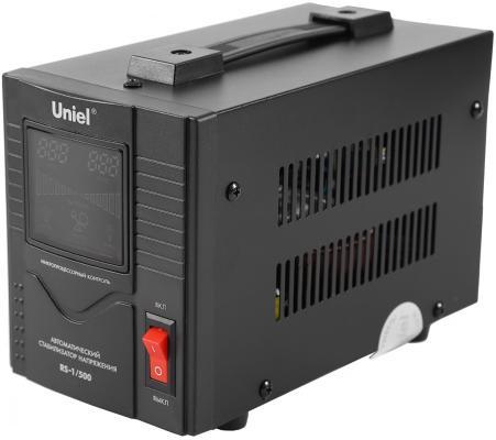 Стабилизатор напряжения UNIEL RS-1/10000LS однофазный настенный 70-275В 10000ВА однофазный стабилизатор напряжения энергия classic 5000