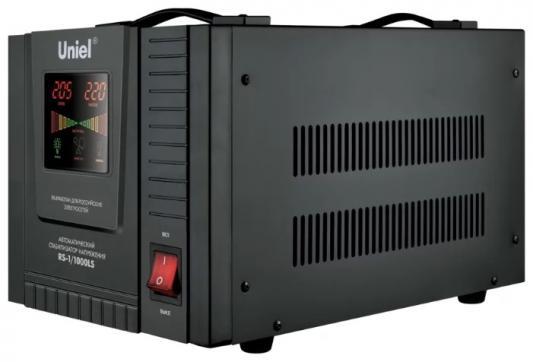 Стабилизатор напряжения UNIEL RS-1/1000LS однофазный настенный 70-275В 1000ВА uniel utv 70