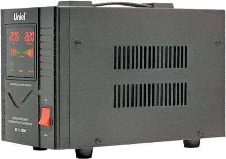 Стабилизатор UNIEL RS-1/5000  однофазный, цифровой 220В, 4000Вт, вх.140-260В