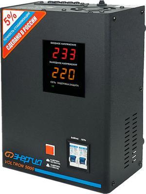 Стабилизатор напряжения Энергия Voltron 5000 (HP) трехфазный стабилизатор напряжения энергия hybrid 20000 20 ква