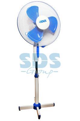 Вентилятор напольный DX-16, 40 Вт, (бело-синий) 2шт