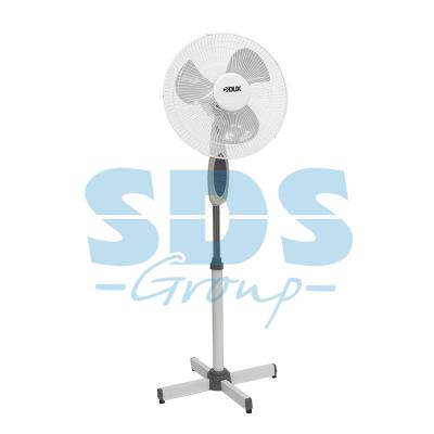 Вентилятор напольный DX-18; 40 Вт, (бело-синий) c ПДУ (бело-синий) и таймером yunxsh синий 40
