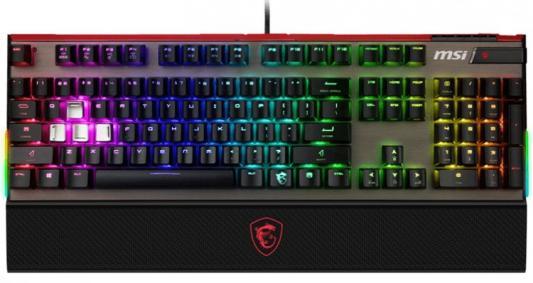 Клавиатура проводная MSI Vigor GK80 CR RU USB черный S11-04RU215-HH6 цена