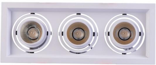 Встраиваемый светодиодный светильник MW-Light Круз 15 637016303 mw light встраиваемый светильник mw light круз 637015401