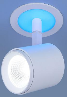 Встраиваемый светодиодный светильник Elektrostandard DSR002 9W 6500K blue 4690389110641