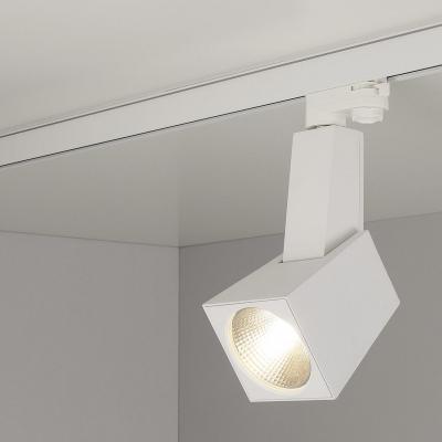 Трековый светодиодный светильник Elektrostandard Perfect белый 38W 3300K 4690389111426 трековый светодиодный светильник elektrostandard accord 20w 3300k 4690389112188