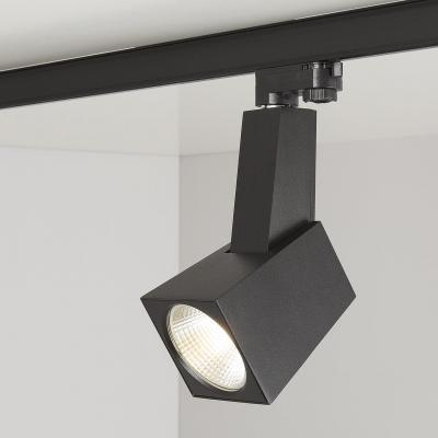 Трековый светодиодный светильник Elektrostandard Perfect черный 38W 3300K 4690389111464 трековый светодиодный светильник elektrostandard perfect черный 38w 4200k 4690389111471