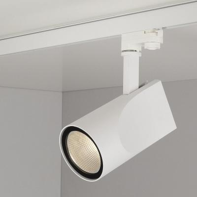 Трековый светодиодный светильник Elektrostandard Vista белый 32W 4200K 4690389111495 трековый светодиодный светильник elektrostandard accord 30w 4200k 4690389112256