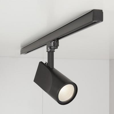 Трековый светодиодный светильник Elektrostandard Vista черный 32W 3300K 4690389111501 трековый светодиодный светильник elektrostandard accord 20w 3300k 4690389112188
