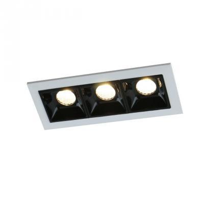 Встраиваемый светодиодный светильник Arte Lamp Grill A3153PL-3BK подвесной светильник arte lamp paleolus a3401sp 3bk