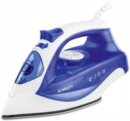 Утюг Scarlett SC - SI30K23 2200Вт синий утюг scarlett sc si30p04 2200вт бело голубой