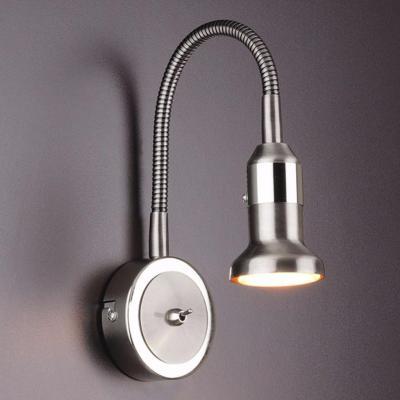 Купить Подсветка для картин Elektrostandard Plica 1215 MR16 сатинированный никель/хром 4690389012099