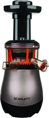Соковыжималка центробежная Scarlett SC-JE50S43 200Вт рез.сок.:800мл. коричневый