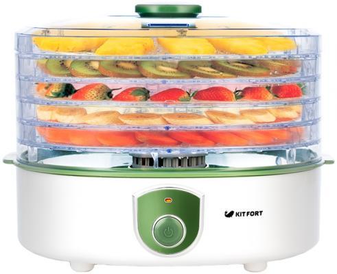 Сушилка для овощей и фруктов KITFORT Kitfort KT-1901 белый цена и фото