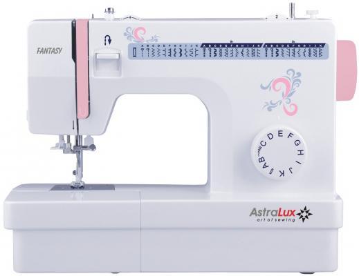 Швейная машина Astralux Fantasy белый/розовый швейная машина astralux 9910