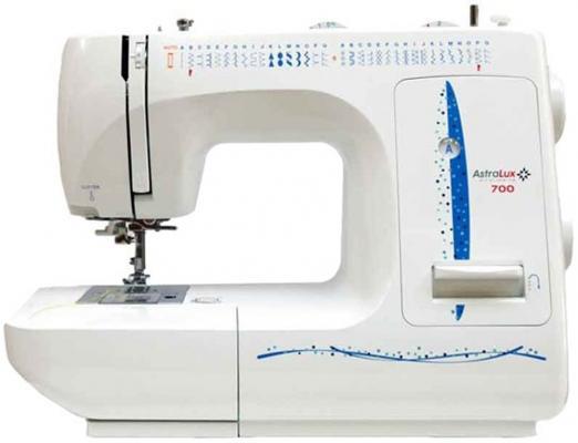 Швейная машина Astralux 700 белый/синий швейная машинка astralux starlet ii