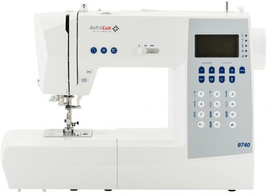 Швейная машина Astralux 9740 белый швейные машины astralux швейная машина astralux k60a